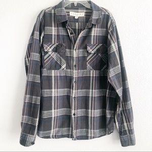 Ezekiel Button-down Long Sleeve Dress Shirt M